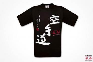 Bio T-Shirt Karate-do schwarz